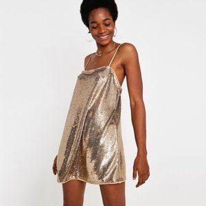 NWT FREE PEOPLE Time To Shine Slip Dress #AN16